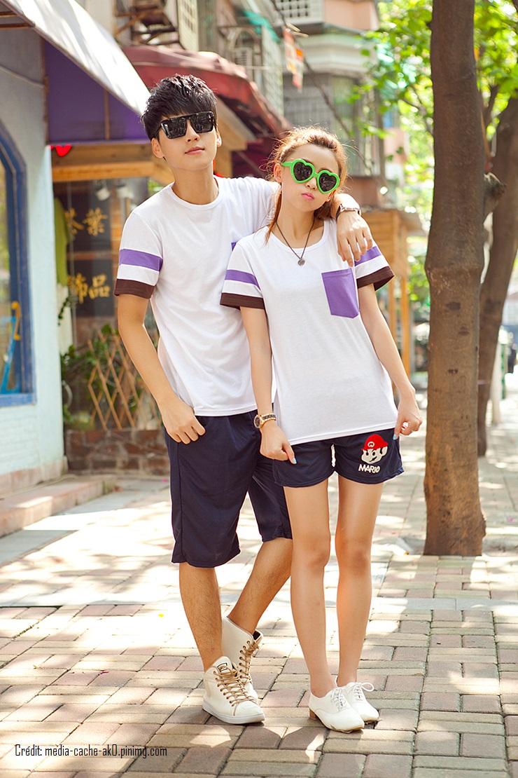 New-Arrival-2015-Fashion-Korean-Men-Women-Matching-Couple-Clothes-Summer-Casual-Tops-T-Shirt-Cotton