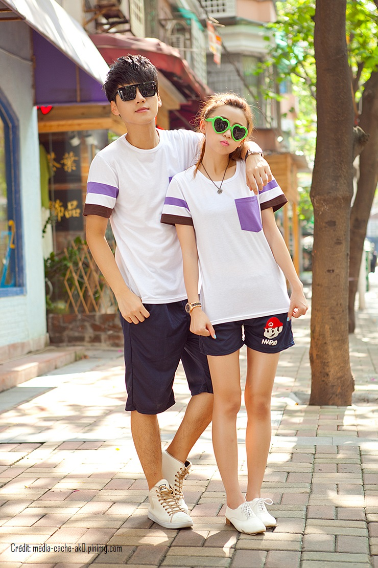 New-Arrival-2015-Fashion-Korean-Men-Women-Matching-Couple-Clothes-Summer-Casual-Tops-T-Shirt-Cotton